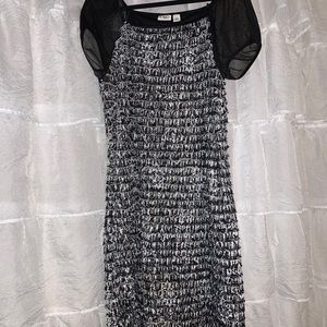 Fitted slinky dress